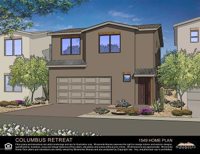 Tucson Single Family Home For Sale: 4264 E Columbus Park Place #Lot 13