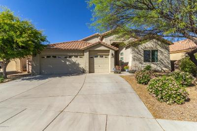 Pima County Single Family Home Active Contingent: 5584 W Crystal Rain Place