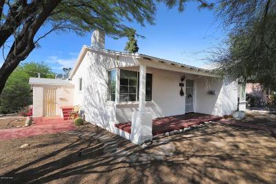 Pima County Single Family Home For Sale: 2801 E Helen Street