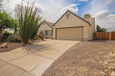 Pima County Single Family Home Active Contingent: 4372 W Sungate Place