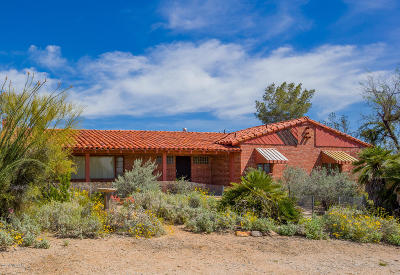 Tucson Single Family Home For Sale: 10845 E Escalante Road