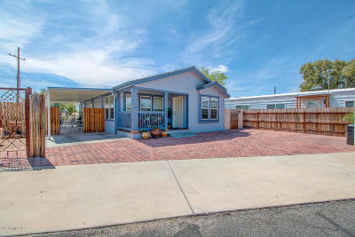 Pima County Manufactured Home For Sale: 5549 W Lazy Heart Street