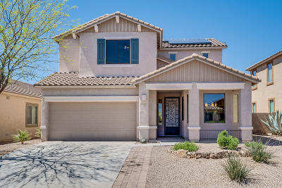 Oro Valley Single Family Home Active Contingent: 12907 Tarzana Drive
