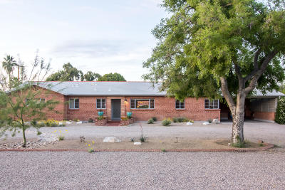 Pima County Single Family Home Active Contingent: 4211 E Holmes Street