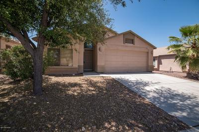 Pima County, Pinal County Single Family Home Active Contingent: 4330 E Mesquite Desert Trail