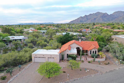 Tucson Single Family Home Active Contingent: 1501 E Camino De La Sombra