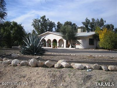 Tucson Single Family Home For Sale: 700 W Orange Grove Road