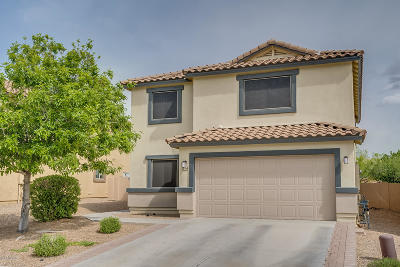 Pima County Single Family Home Active Contingent: 704 W Calle Franja Verde