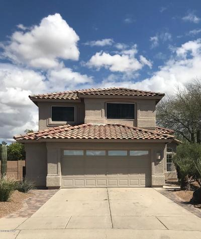 Tucson Single Family Home Active Contingent: 2624 W Mountain Heights Court