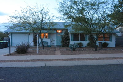 Pima County, Pinal County Single Family Home Active Contingent: 158 W William Carey Street