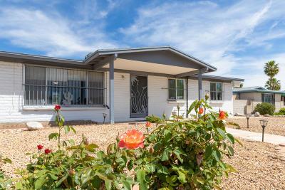 Tucson Single Family Home Active Contingent: 9775 E Colette Street