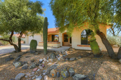 Oro Valley Single Family Home Active Contingent: 1156 E Rising Sun Drive