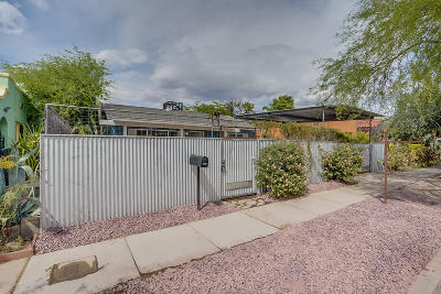 Tucson Single Family Home For Sale: 515 E Mabel Street