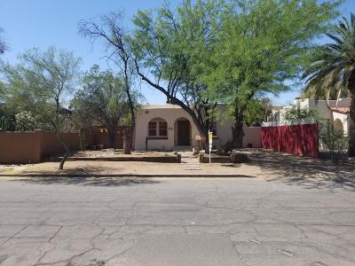 Tucson Single Family Home For Sale: 2416 E Drachman Street