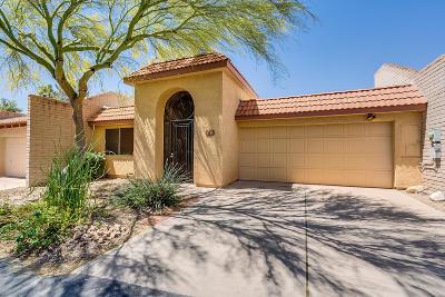 Tucson Townhouse For Sale: 5763 N Camino De La Noche