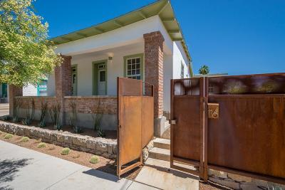 Tucson Single Family Home For Sale: 116 N 1st Avenue