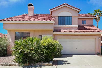 Tucson Single Family Home Active Contingent: 10359 N Fair Desert Drive