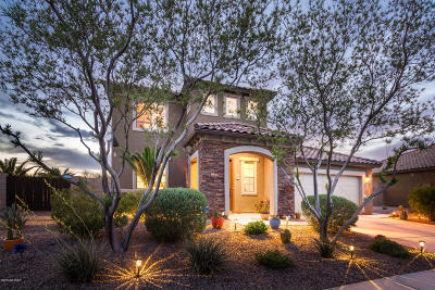 Oro Valley Single Family Home Active Contingent: 10795 N Avenida Vallejo