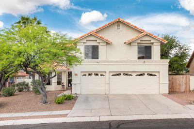 Oro Valley Single Family Home Active Contingent: 11781 N Dragoon Springs Drive