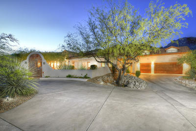 Tucson Single Family Home For Sale: 6451 N Via Del Emigrado