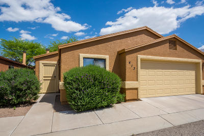 Pima County Single Family Home Active Contingent: 413 E Geronimo Bluffs Loop