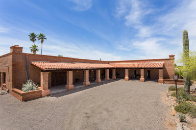 Tucson Single Family Home For Sale: 3010 E Camino Juan Paisano
