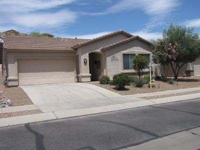 Tucson Single Family Home Active Contingent: 60764 E Eagle Heights Drive