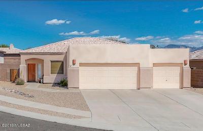 Marana Single Family Home For Sale: 4852 W Saguaro Point Place