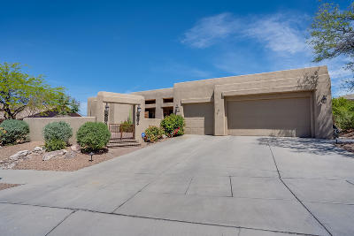 Tucson Single Family Home Active Contingent: 11031 E Monument Estates Circle
