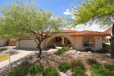 Oro Valley Single Family Home Active Contingent: 1056 E Desert Glen Drive