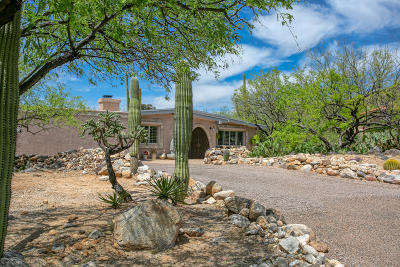 Tucson Single Family Home Active Contingent: 6921 N Montezuma Drive