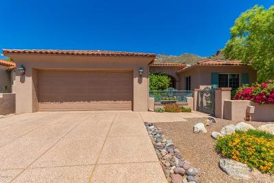 Tucson Single Family Home For Sale: 6961 E Quiet Desert Lane