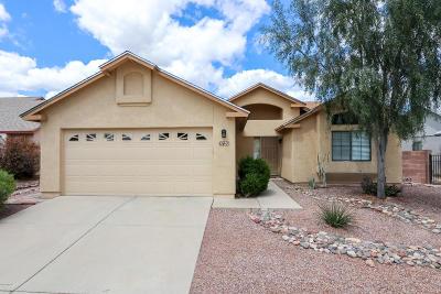 Tucson Single Family Home Active Contingent: 2750 W Camino Llano