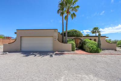 Tucson Single Family Home Active Contingent: 3434 N Plaza Del Haciendas