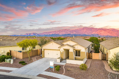 Oro Valley Single Family Home Active Contingent: 13360 N Atalaya Way