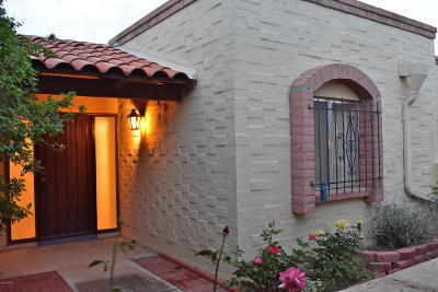 Pima County Townhouse For Sale: 2725 N Magnolia Avenue