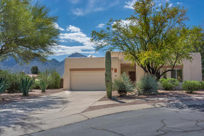 Oro Valley Single Family Home Active Contingent: 391 W Ajax Peak Road