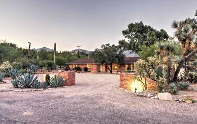 Single Family Home Active Contingent: 2815 E Camino La Brinca