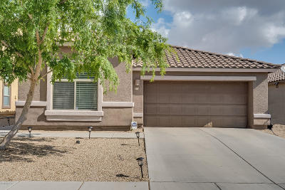 Pima County Single Family Home Active Contingent: 314 W Calle Paso Suave
