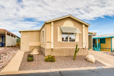 Pima County, Pinal County Manufactured Home Active Contingent: 6143 S Foxhunt Drive
