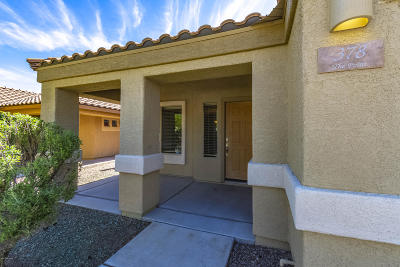 Sahuarita Single Family Home For Sale: 378 N Rock Station Drive