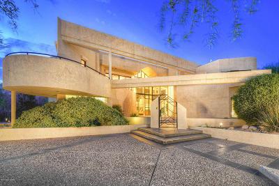 Single Family Home For Sale: 7261 E Ventana Canyon Drive