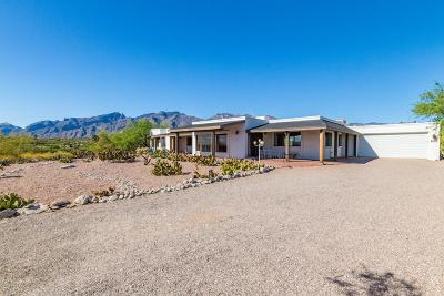 Tucson Single Family Home Active Contingent: 4570 N Paseo Bocoancos