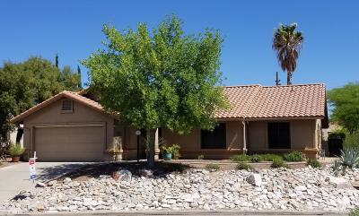 Pima County Single Family Home For Sale: 2450 W Catalpa Road