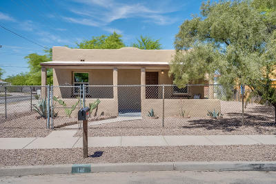 Tucson AZ Single Family Home For Sale: $138,000