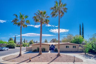 Sierra Vista Single Family Home Active Contingent: 1029 El Sonoro Drive