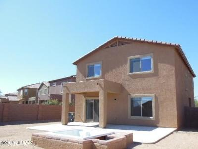 Pima County Single Family Home Active Contingent: 1025 E Mount Shibell Drive