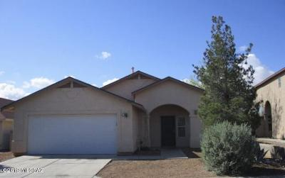Tucson AZ Single Family Home For Sale: $166,000