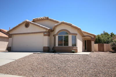 Tucson AZ Single Family Home For Sale: $225,500