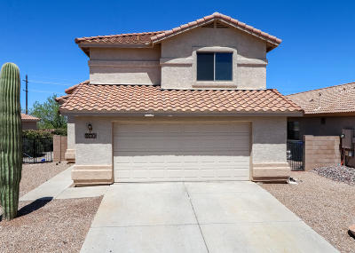 Tucson Single Family Home Active Contingent: 10495 E Dusky Willow Drive